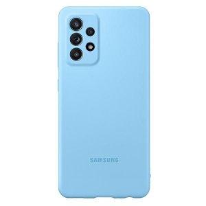 Etui Samsung EF-PA525TL A52 A525 niebieski/blue Silicone Cover