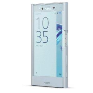 Etui Sony SCTF20 błękitny Xperia X Comp act Style Cover Touch mist blue