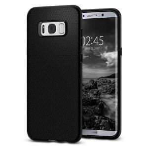 Spigen Liquid Air Samsung G950 S8 czarny /black 565CS21611