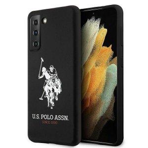 US Polo USHCS21MSLHRBK S21+ G996 czarny/black Silicone Logo