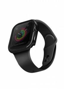 UNIQ etui Valencia Apple Watch Series 4/5/6/SE 40mm. szary/gunmetal grey