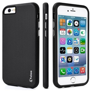 VAKOO Etui Case Heavy Duty Drop Protection - iPhone 7 / 8 /SE 2020  (4.7) (Black)