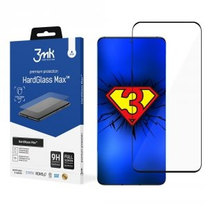 3MK HardGlass Max Huawei P50 Pro 5G czarny/black, FullScreen Glass