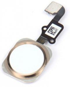 HOME button taśma flex iPhone 6 / 6+ złoty/gold