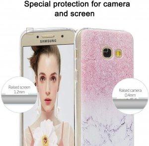 Marble Silicone Case - Etui marmurkowe Samsung Galaxy A5 2017