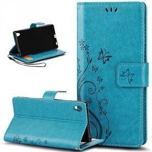 Buterfly Etui Futerał Wallet Case Sony Xperia Z3
