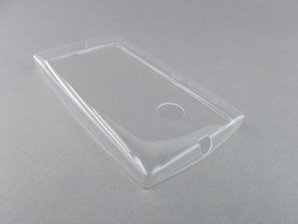 Futerał Back Case Ultra Slim 0,3mm - NOKIA 435 transparentny