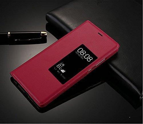 Yooky Case, Premium ETUI FUTERAŁ - Huawei P7 (czerwono-różowy)
