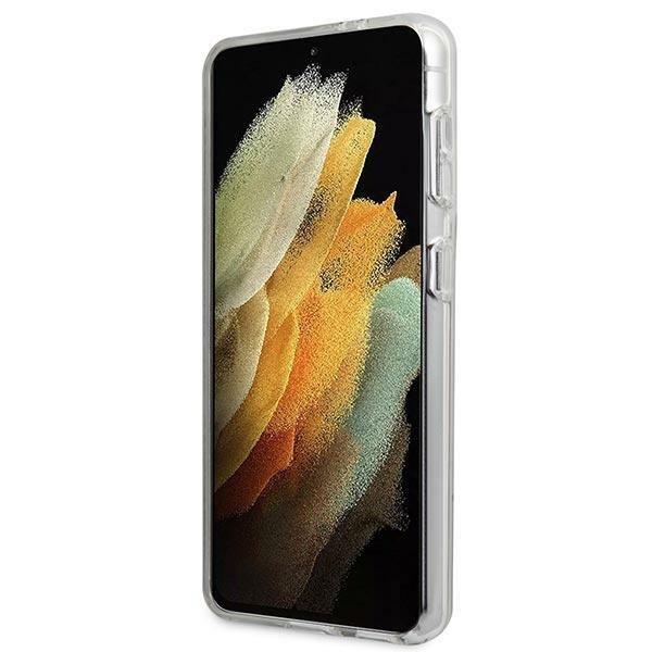 Guess GUHCS21MPCUMABK S21+ G996 czarny/black hardcase Marble