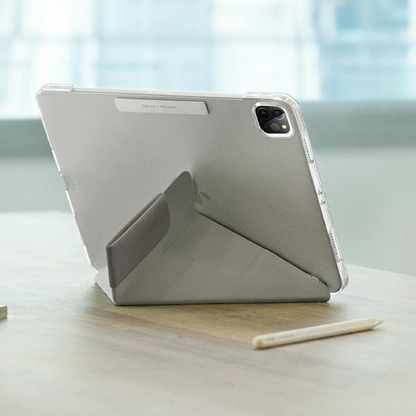 "UNIQ etui Camden iPad Pro 11"" (2021) szary/fossil grey Antimicrobial"