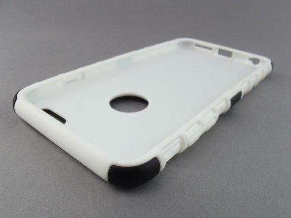 HYBRYDOWE ETUI FUTERAŁ COMBO 2in1 z podstawką Apple iPhone 6 PLUS (5.5) (czarno-białe)