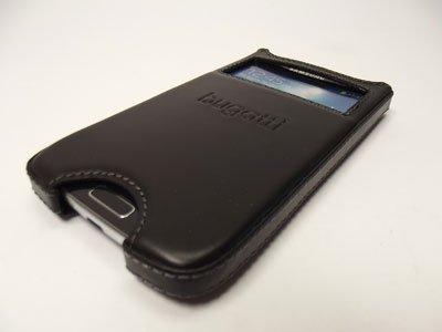 BUGATTI STOCKHOLM ETUI S-VIEW SAMSUNG GALAXY S4 i9500 (czarne)