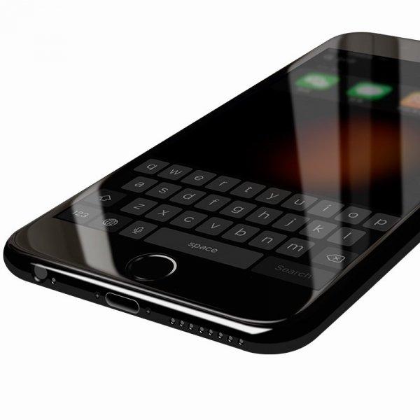 "HardGlass MAX 5D - Szkło Hartowane na cały ekran do Apple iPhone 6 PLUS 6S PLUS (5,5"") kolor biały"