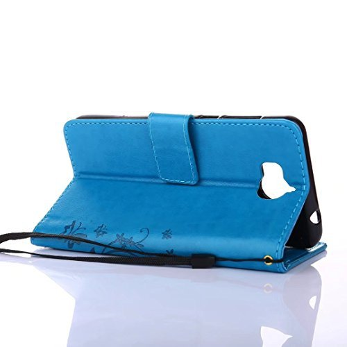 SMTR Premium Leather Wallet case ETUI ZE SMYCZKĄ DO HUAWEI Y6 2017