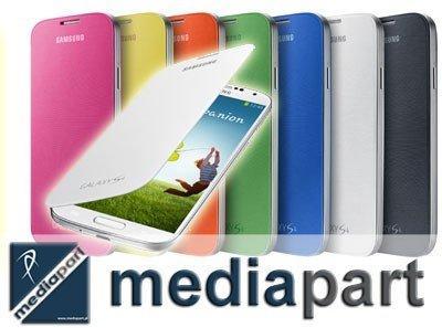 SAMSUNG ORYGINALNY BOOKCASE GALAXY S4 i9500 EF-FI950BWEG (kolor BIAŁY)