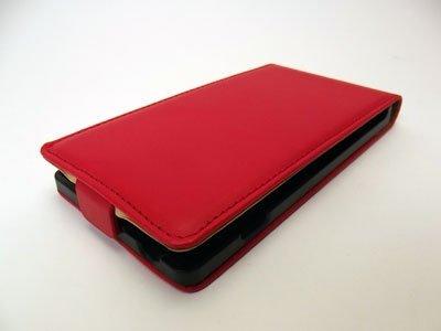 PRESTIGE SLIM ETUI FUTERAŁ - SONY XPERIA C S39h (czerwone)