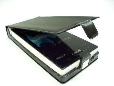 ETUI SLIM LINE FLIP CASE DO SONY XPERIA U