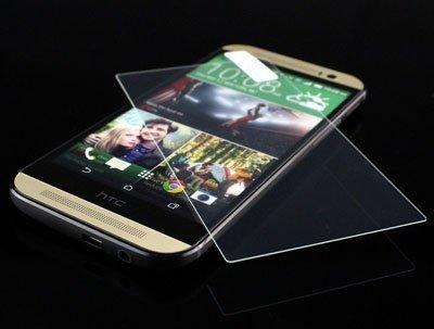 SZKŁO HARTOWANE - SZYBKA OCHRONNA 9H HTC ONE M8