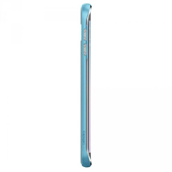 Spigen Neo Hybrid Crystal Blue Topaz - SamsungGalaxy S6 Edge+ / Galaxy S6 Edge Plus Etui SGP11718
