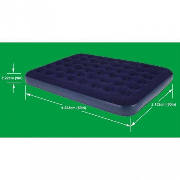 Materac welurowy 2-osobowy 203x152x22cm / JL020256-1N 203108