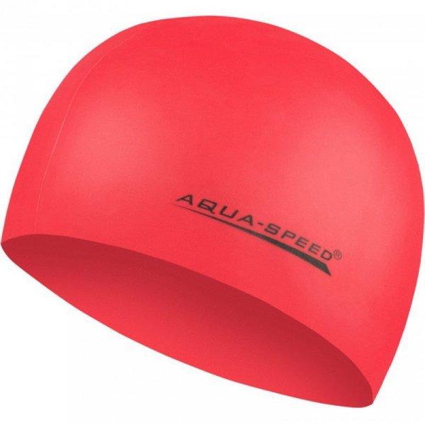 Czepek Aqua-speed Mega czerwony 31 100
