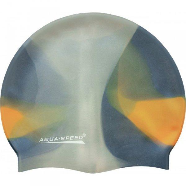Czepek pływacki Aqua-Speed Bunt tęczowy kol. 89