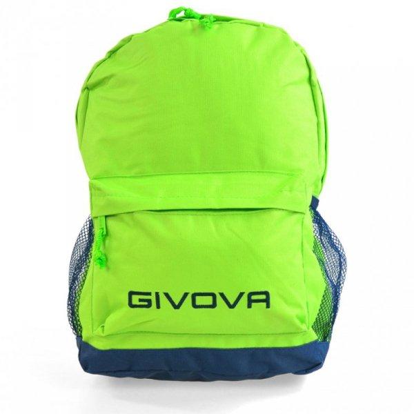 Plecak Givova Zaino Scuola zielony fluo