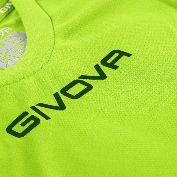 Koszulka Givova One żółta fluo MAC01 0019