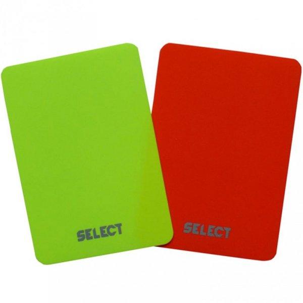 Kartki sędziowskie Select 2szt 0613