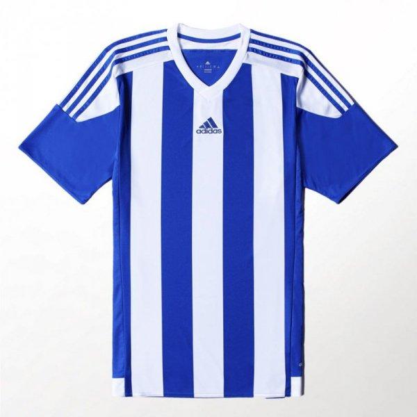 Koszulka dla dzieci adidas Striped 15 JSY JUNIOR biało niebieska S16138