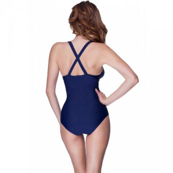 Kostium kąpielowy damski Aqua-Speed Greta granatowo-błękitny 04 351