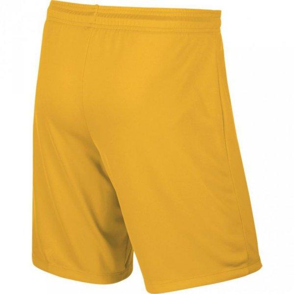 Spodenki męskie Nike Park II Knit Short NB żółte 725887 739