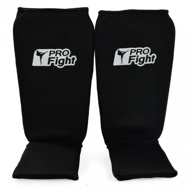 Ochraniacz na goleń stopę Step 1104 Profight czarny Cotton czarny