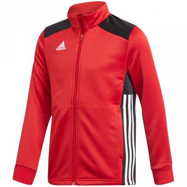 Bluza dla dzieci adidas Regista 18 Polyester Jacket JUNIOR czerwona CZ8633