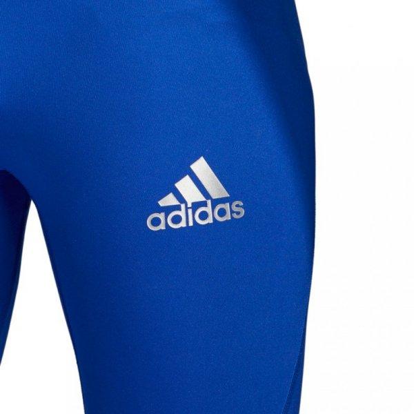 Podspodenki męskie adidas Alphaskin Sport Short Tight niebieskie CW9458