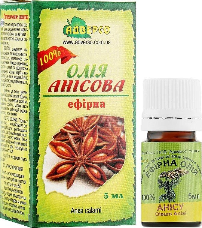 Olejek Anyżowy, 100% Naturalny Adverso, 5ml