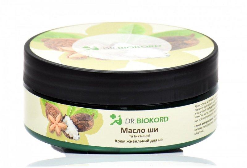 Krem do Stóp Odżywczy Masło Shea i Inca Inchi, Dr.Biokord