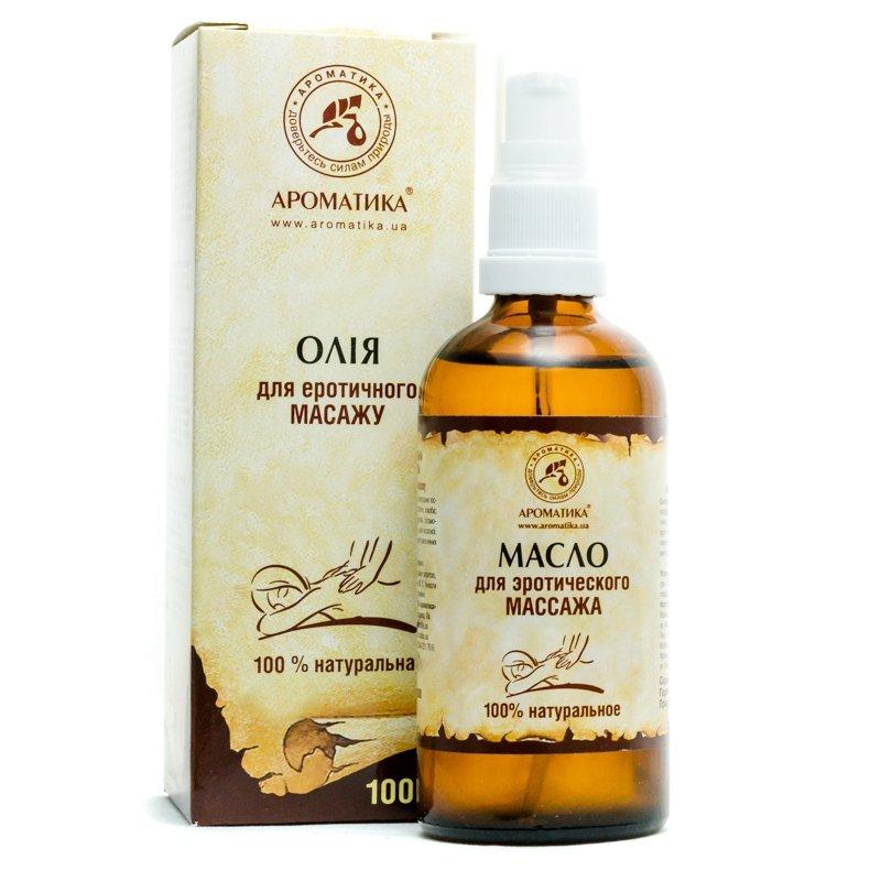 Olej do Masażu Erotycznego, 100% Naturalny, Aromatika, 50ml