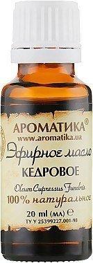 Olejek Cedrowy, 100% Naturalny, Aromatika, 20ml