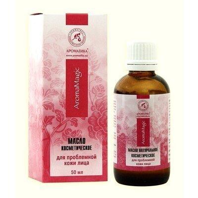 Olejek do Pielęgnacji Cery Problemowej, 100% Naturalny Aromatika