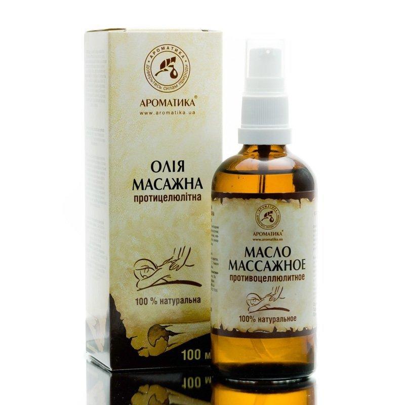Olej do Masażu Antycellulitowego, Aromatika, 100ml
