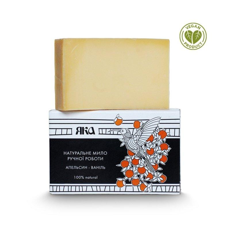 Mydło Naturalne Ręcznie Robione Pomarańcza i Wanilia, Yaka