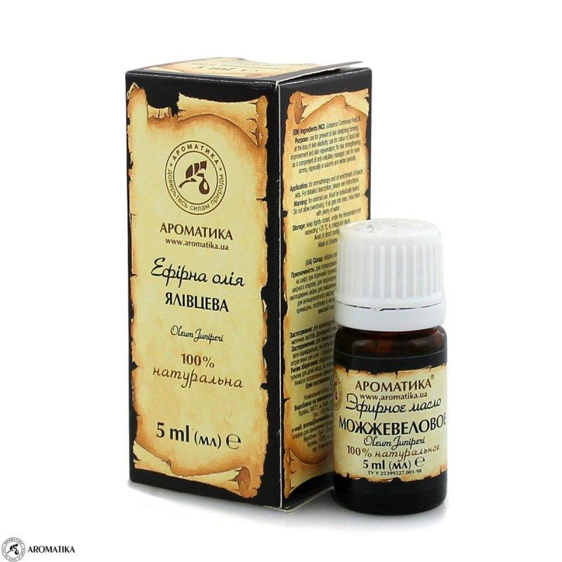 Olejek Jałowcowy, Aromatika, 100% Naturalny, 5ml