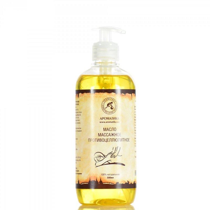Olej do Masażu Antycellulitowego, 100% Naturalny, Aromatika, 500ml