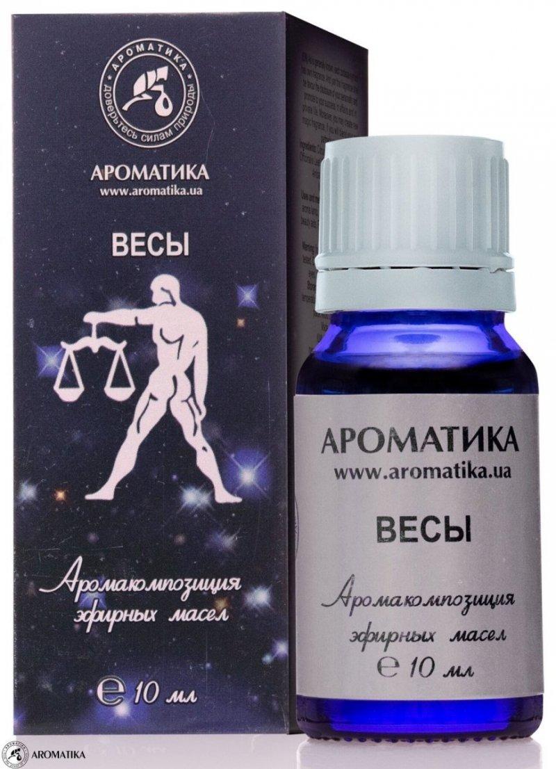 Waga Kompozycja Olejków Aromaterapeutyczna dla Znaku Zodiaku, 100% Naturalna