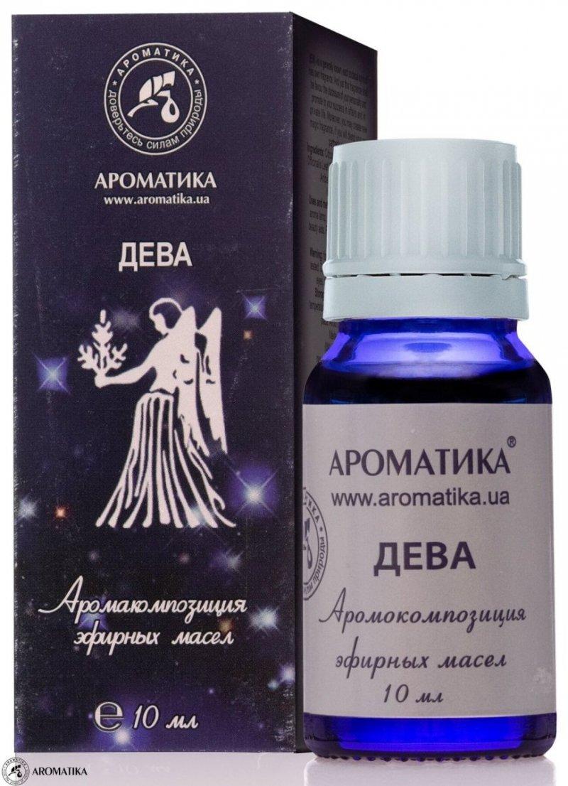 Panna Kompozycja Olejków Aromaterapeutyczna dla Znaku Zodiaku, 100% Naturalna