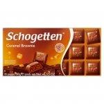 Schogetten Czekolada mleczna z nadzieniem brownie z karmelem 100 g