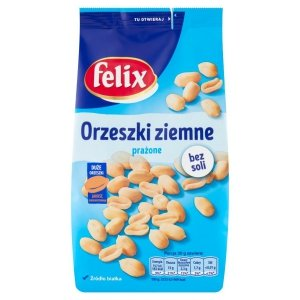 Felix Orzeszki ziemne prażone bez soli 380 g