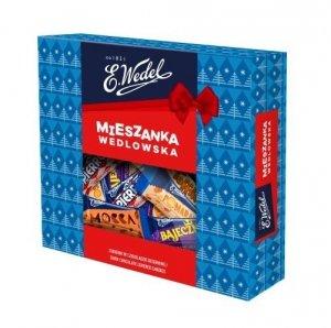 Wedel Mieszanka Wedlowska Cukierki w czekoladzie 318 g