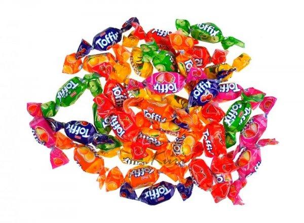 Toffix cukierki owocowe z nadzieniem 1kg Elvan